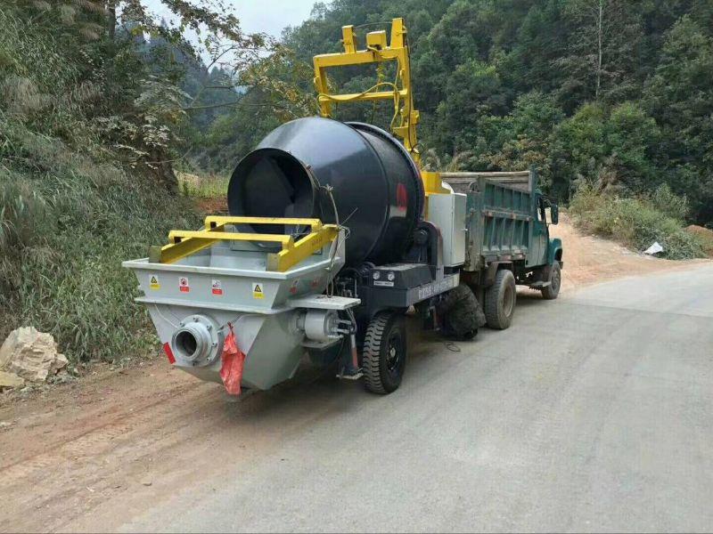 农村混凝土设备客户体现日